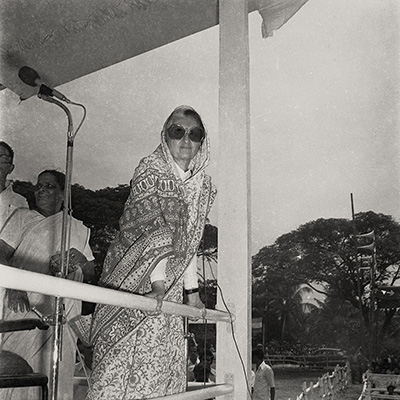 Mrs. Gandhi / Abul Kalam Azad / Early 80s