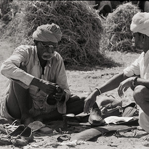 The Shoe Maker / Abul Kalam Azad / Early 80s