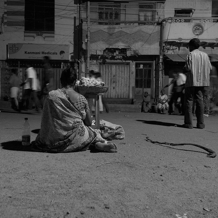 Project 365 is an initiative by EtP that colelctively creates and preserves photographic visuals of the fast changing culture, landscape and lifestyle of contemporary South India. The first phase of this project was organsied at Tiruvannamalai. Twenty five photographers have contributed to Project 365 Tiruvannamalai and the public photo archive has a collection of about 3000 photographs of Tiruvannamalai. The second phase will create photographic visuals of ancient tri-sangam ports Tyndis, Muziris and Korkai. The thrid phase of the project will be organsied at River Cauveri. Project 365 is led by photographer Abul Kalam Azad. This project titled INNER AND OUTER PATH was done by photographer MAVEERAN SOMASUNDARAM.
